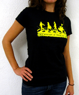 Women's Black Tee